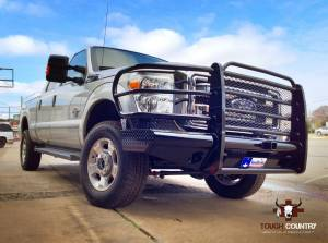 Tough Country - Tough Country Custom Traditional Front Bumper, Ford (2008-10) F-450 & F-550 Super Duty - Image 15