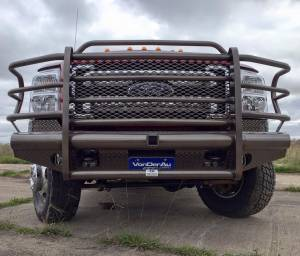 Tough Country - Tough Country Custom Traditional Front Bumper, Ford (2008-10) F-450 & F-550 Super Duty - Image 6