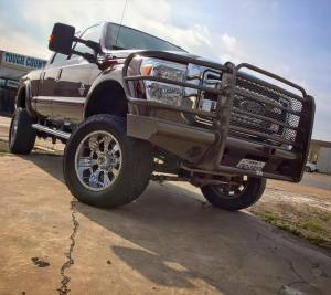 Tough Country - Tough Country Custom Traditional Front Bumper, Ford (2008-10) F-450 & F-550 Super Duty - Image 5