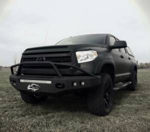Tough Country - Tough Country Custom Evolution Front Bumper (No Top), Toyota (2014-15) Tundra