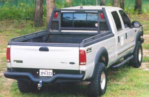 Exterior Accessories - Headache Racks - Tough Country - Tough Country Custom Heavy Duty Headache Rack, Ford (1999-16) F-250, F-350, & F-450 Super Duty