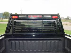 Exterior Accessories - Headache Racks - Tough Country - Tough Country Custom Louvered Headache Rack, Dodge (2010-15) 2500 & 3500 Ram
