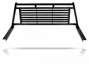 Tough Country Custom Louvered Headache Rack, Ford (1999-16) F-250, F-350, & F-450 With Rails