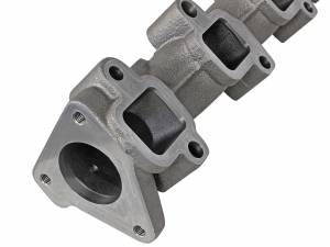 aFe - aFe Exhaust Blade Runner Manifold, Chevy/GMC (2001-16) 6.6L Duramax, Ported Ductile Iron - Image 5