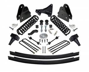 "ReadyLIFT Suspension - ReadyLIFT Lift Kit, Ford (2011-16) F-250 & F-350 4x4 (1-piece drive shaft), 6.5"" front & 4.5"" rear"