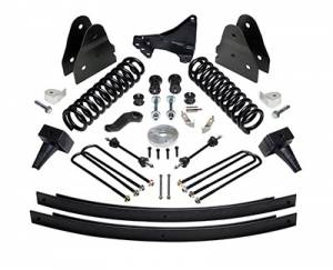 "ReadyLIFT Suspension - ReadyLIFT Lift Kit, Ford (2011-16) F-250 & F-350 4x4 (2-piece drive shaft), 6.5"" front & 4.5"" rear"