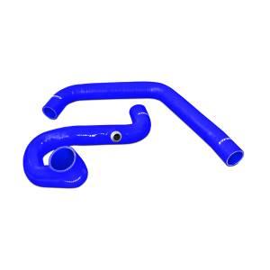 Engine Parts - Coolant System Parts - Mishimoto - Mishimoto SiliconeCoolantHose Kit, Chevy/GMC (1996-00) 6.5LDiesel 2500 & 3500 (Blue)