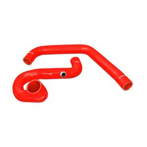 Engine Parts - Coolant System Parts - Mishimoto - Mishimoto Silicone Coolant Hose Kit, Chevy/GMC (1996-00) 6.5L Diesel 2500 & 3500 (Red)