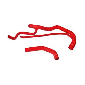 Engine Parts - Coolant System Parts - Mishimoto - Mishimoto Silicone Coolant Hose Kit, Chevy/GMC (2001-05) 6.6L Duramax 2500 & 3500 (Red)