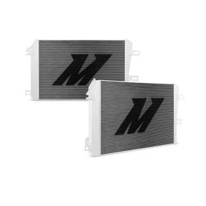 Engine Parts - Coolant System Parts - Mishimoto - Mishimoto Aluminum Radiator, Chevy/GMC (2006-10) 6.6L Duramax 2500 & 3500