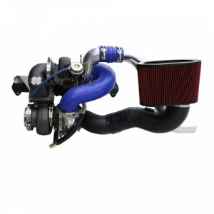 Diesel Power Source - Diesel Power Source Twin Turbo Kit, Dodge (1994-98) 5.9L 12v Cummins, S480/D-Tech 64