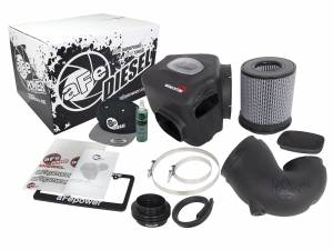 Air Intake & Cleaning Kits - Air Intakes - aFe - aFe Air Intake Diesel Elite Value Pack,Dodge (1994-02) 5.9L Cummins, Stage 2 SI, ProDry S