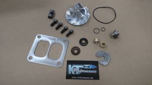 Turbos/Superchargers & Parts - Turbo Rebuild Kits - Performance Turbo Rebuild Package With Billet Compressor Wheel, Ford (1994-03) 7.3L Garrett TP38 & GTP38