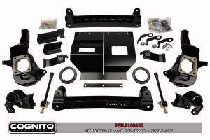 "Steering/Suspension Parts - 4"" Lift Kits - Cognito Motorsports - Cognito Motorsports 4"" NTBD Front Lift Kit, Chevy/GMC (2011-16) 2500HD & 3500HD 4x4"