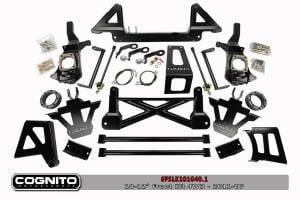 "Steering/Suspension Parts - 10"" Lift Kits - Cognito Motorsports - Cognito Motorsports 10"" NTBD Front Lift Kit, Chevy/GMC (2011-16) 3500HD 4x4 Dually"