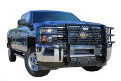 Brush Guards & Bumpers - Grille Guards - Ranch Hand - Ranch Hand Legend Grille Guard, GMC Sierra (2015-17) 2500HD & 3500HD with Sensors