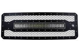 "Grilles - Ford Grille - Rigid Industries - Rigid Industries LED Grille, Ford (2011-16) F-250, F-350 (30"" E-Series)"