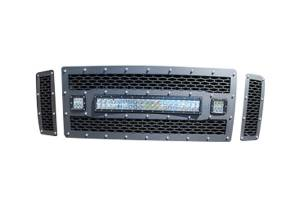 Rigid Industries - Rigid Industries LED Grille, Ford (2008-10) F-250, F-350, F-450 (FX4 Only)