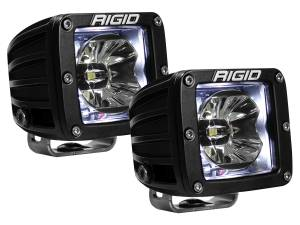 Off-Road Lighting - Cube LED Lights - Rigid Industries - Rigid Industries Pod, Radiance LED Light - White