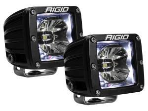 Off-Road Lighting - Cube LED Lights - Rigid Industries - Rigid Industries Pod, Radiance LED Light - White