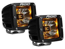 Off-Road Lighting - Cube LED Lights - Rigid Industries - Rigid Industries Pod, Radiance LED Light -  Amber