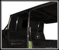 Advanced Vehicles Assembly - AVA Complete Humvee Hard Top with Roll Cage, 4 Door Truck Bed Back - Image 3