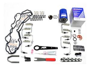 Merchant Automotive - Merchant Automotive Deluxe Fuel Injector Install Kit, Chevy/GMC (2001-04) 6.6L Duramax
