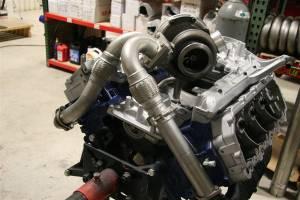 Full Force Diesel - Full Force Diesel Fuel T-4 Turbo Mount Kit, Ford (2003-07) 6.0L Powerstroke