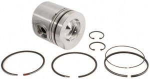 Mahle - MAHLE Clevite Piston with Rings, Chevy/GMC (1992-02) 6.5L Diesel, with 0.010 Reduced Height (Standard Size)
