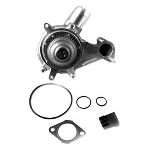 Engine Parts - Coolant System Parts - Merchant Automotive - Merchant Automotive Water Pump Kit, Chevy/GMC (2001-04) 6.6L Duramax