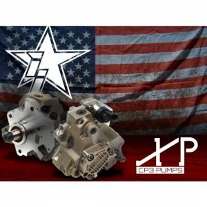 Fuel Injection Parts - Fuel Injection Pumps - Industrial Injection - Industrial Injection XP Series CP3 Fuel Injection Pump, Dodge (2003-07) 5.9L Cummins (XP Series)