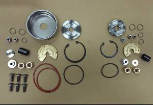 AVP - AVP Turbo Rebuild Kit, Ford (2008-10) 6.4L Power Stroke, High & Low Pressure Turbos