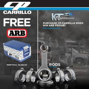 CP-Carrillo - Carrillo Performance Connecting Rods, Chevy/GMC (2001-10) 6.6L LB7/LLY/LBZ Duramax (set of 8) - Image 2