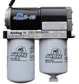 Fuel Pump Systems - Fuel Pumps With Filters - Pure Flow - AirDog - AirDog II-4G, Dodge (1994-98) 5.9L Cummins, DF-165 Adjustable Regulator, Quick Disconnect Fittings