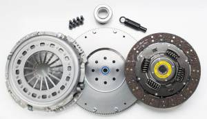 Clutches/Clutch Parts - Single Disk Clutch - South Bend Clutch - South Bend HD Single Disc Clutch Kit, Dodge (1988-04) 5.9L Cummins 5-Speed NV4500 & 6-Speed, 400hp