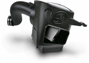 S&B - S&B Air Intake Kit, Dodge (2003-07) 5.9L Cummins, Dry Extendable Filter