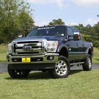 "Superlift - Superlift Suspension Lift Kit, Ford (2005-07) F-250/F-350 6.0L Diesel 4x4, 2"" Level Kit Superide Shocks"