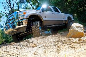 "Superlift - Superlift Suspension Lift Kit, Ford (2011-16) F-250/F-350 6.7L Diesel 4x4, 4"" King Coilover Lift Kit - Image 2"