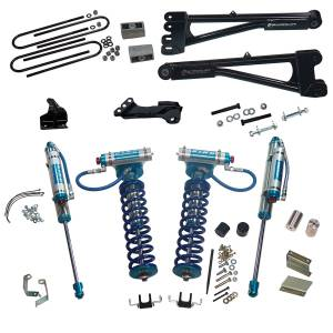 "Superlift - Superlift Suspension Lift Kit, Ford (2008-10) F-250/F-350 6.7L Diesel 4x4, 4"" King Coilover Lift Kit"