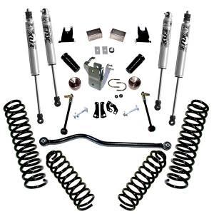 Superlift - Superlift Suspension Lift Kit, Jeep (2007-11) Wrangler JK 2-Door With Fox Shocks - Image 3