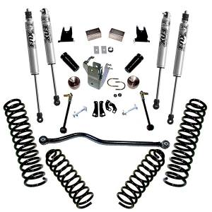 Superlift - Superlift Suspension Lift Kit, Jeep (2007-17) Wrangler JK 4-Door With Fox Shocks