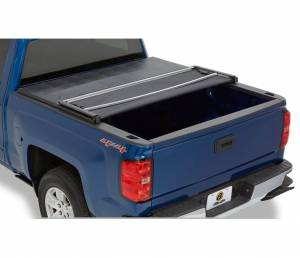 Bed/Tonneau Covers - Vinyl Folding Tonneau Covers - Bestop - Bestop EZ Fold Soft Tonneau Cover, Ford (1999-16) F-250/F350 (6.75 FT Bed)