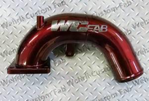 Turbos/Superchargers & Parts - Performance Twin Turbo Kits - Werhli Custom Fabrication - Wehrli Custom Fab Intake Horn, Dodge (2003-07) 5.9L Cummins