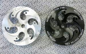 Werhli Custom Fabrication - Wehrli Custom Fab CP3 Pulley, Chevy/GMC (2001-16) 6.6L Duramax (Shallow Offset)