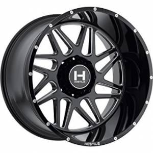 "Hostile Wheels - Hostile Wheels 8x170, 20""x10"" Sprocket, Blade Cut (-19 Offset)"
