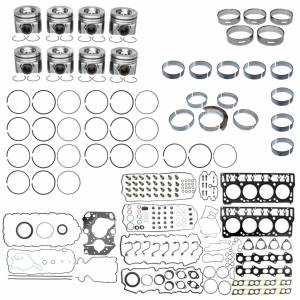 Engine Gaskets & Seals - Engine Overhaul Kits - Mahle - MAHLE Clevite Overhaul Kit, Ford (2008-10) 6.4L Powerstroke