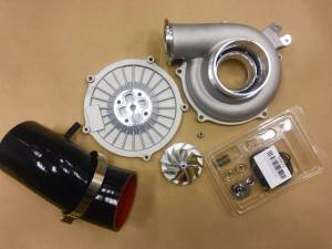 Turbos/Superchargers & Parts - Turbo Parts - AVP - AVP Boost Master Performance Turbo Upgrade Kit, Ford (1999.5-03) 7.3L, 66/88 Billet Wheel