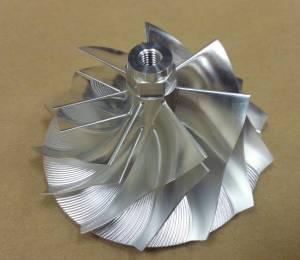 Turbos/Superchargers & Parts - Turbo Parts - AVP - AVP Billet Turbo Compressor Wheel, Chevy/GMC (2004.5-05) 6.6L Duramax