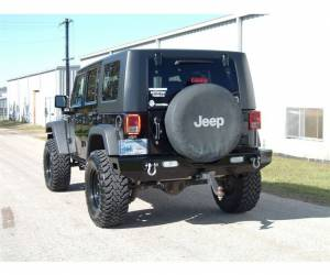 Brush Guards & Bumpers - Rear Bumpers - Ranch Hand - Ranch Hand Horizon Rear Bumper, Jeep (2007-17) Wrangler JK