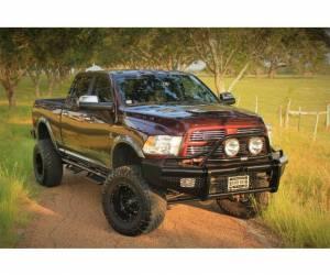 Ranch Hand - Ranch Hand Legend Bullnose Bumper, Dodge/RAM (2010-18) 2500/3500/4500/5500 (with sensors)